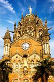 Victoria Railway station. Mumbai India