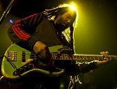 NEW YORK - APR 17: Bass guitarist Darryl Jenifer of Bad Brains performs at Irving Plaza on April 17,