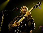 NEW YORK - 17 APR: Frontmann HR Bad Brains führt im Irving Plaza am 17. April 2012 in New York