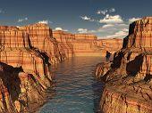 River Canyon Summer