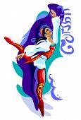 Ballet dancer: corsair
