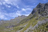 Scenic View Near Tonsas-heia, Vest-lofoten, Norway, Scandinavia poster