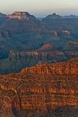 Fantastic View Into The Grand Canyon From Mathers Point, South Rim
