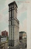 Times Building In New York Circa 1907