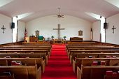 Country Church Interior