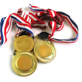 picture of gold medal  - 3 gold medals - JPG
