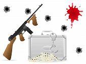 Gangster Concept Vector Illustration