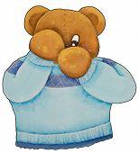 Peekaboo Teddy Bear