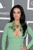 LOS ANGELES - FEB 10:  Katy Perry arrives at the 55th Annual Grammy Awards at the Staples Center on
