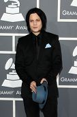LOS ANGELES - FEB 10:  Jack White arrives at the 55th Annual Grammy Awards at the Staples Center on February 10, 2013 in Los Angeles, CA