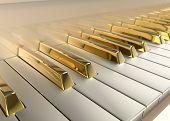 Piano de ouro