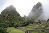 Ancient Ruins Of Machu Picchu