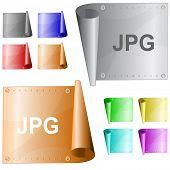 Jpg. Metal surface. Raster illustration. Vector version is in my portfolio.