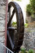 The old watermill in Manarola.