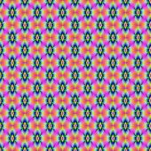 Flower in Neon tiled