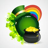 vector beautiful st patrick's day design with space for your text