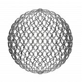 Ball From Metalic Mesh