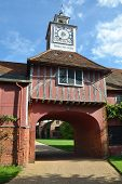 Elizabethan Gatehouse and clock