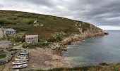 Penberth Cove In Cornwall