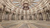 ancient persian hall interior