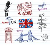 London Doodles  set.