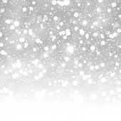 Glittering white abstract background