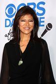 LOS ANGELES - OCT 8:  Julie Chen at the CBS Daytime After Dark Event at Comedy Store on October 8, 2