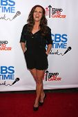 LOS ANGELES - OCT 8:  Melissa Claire Egan at the CBS Daytime After Dark Event at Comedy Store on Oct