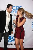 LOS ANGELES - OCT 8:  Michael Muhney, Kim Matula at the CBS Daytime After Dark Event at Comedy Store