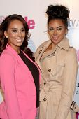 LOS ANGELES - OCT 9:  Gloria Govan, Laura Govan at the Hollywood In Bright Pink at Bagatelle LA on O