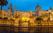 image of neoclassical  - The cathedral of Palermo - JPG