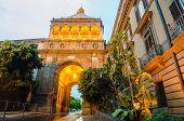 Porta Nuova - City gate in Palermo