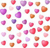 Heart Seamless Texture