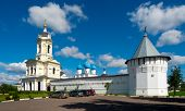 Постер, плакат: Vysotsky Monastery in Serpukhov Moscow area Russia It was established in 1370