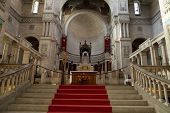 Interior of the Basilica of Saint-Martin Tours France