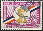 Dominican Republic - Circa 1935: A Stamp Printed In Dominican Republic Shows President Trujillo