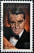 Usa - Circa 2002 : Stamp Printed In Usa Shows Cary Grant English-american Actor, Circa 2002