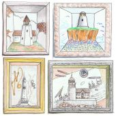 Lighthouse Drawings