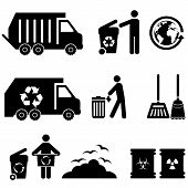 Trash And Garbage Icons