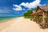 Tropical beach of Koh Kho Khao island in Thailand