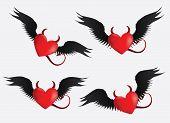 Devil Hearts Set