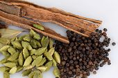 picture of garam masala  - ingredients for garam masala  - JPG