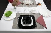Table Setting With Plates