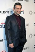 LOS ANGELES - MAR 24:  Michael Sheen at the PaleyFEST 2014 -