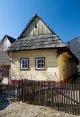 Vlkolinec Village In Slovakia