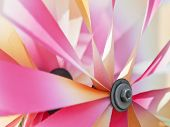 Detail Of Colorful Pinwheel