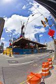 Construction Site In Ground Zero, New York