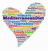 stock photo of southern  - The Mediterranean diet  - JPG