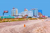 Amuesment Park At Steel Pier Atlantic City, Nj