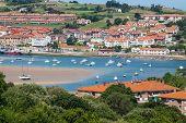 Coastal village in Cantabria San Vicente de la BarqueraSpain